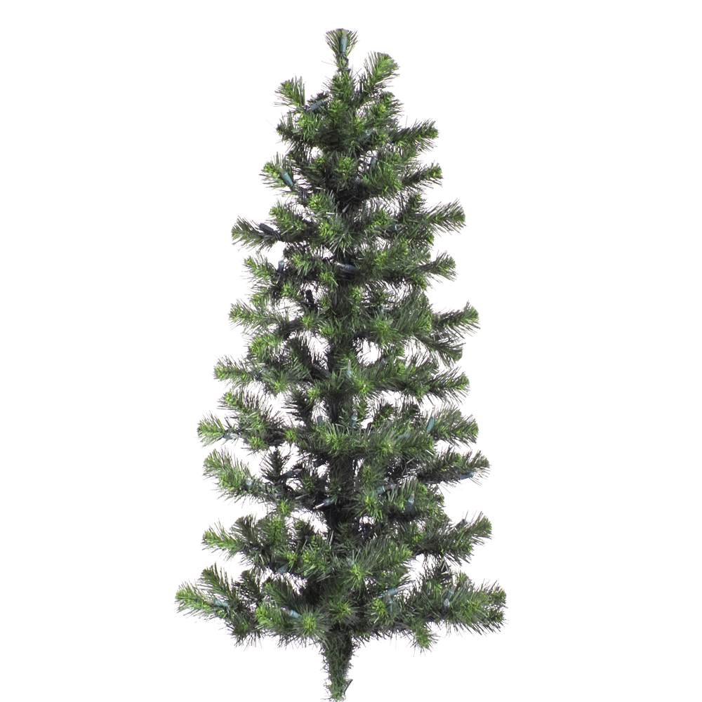 4 Foot Douglas Fir Artificial Christmas Wall Tree Unlit