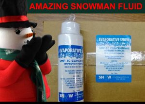 3 Ounce Evaporative Snow Fluid - 6-Pack