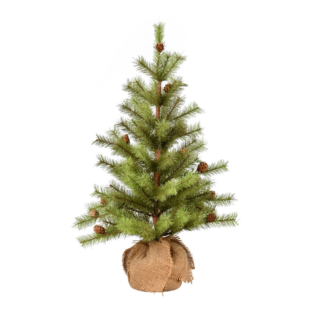 2 Foot Vernon Pine Artificial Tree