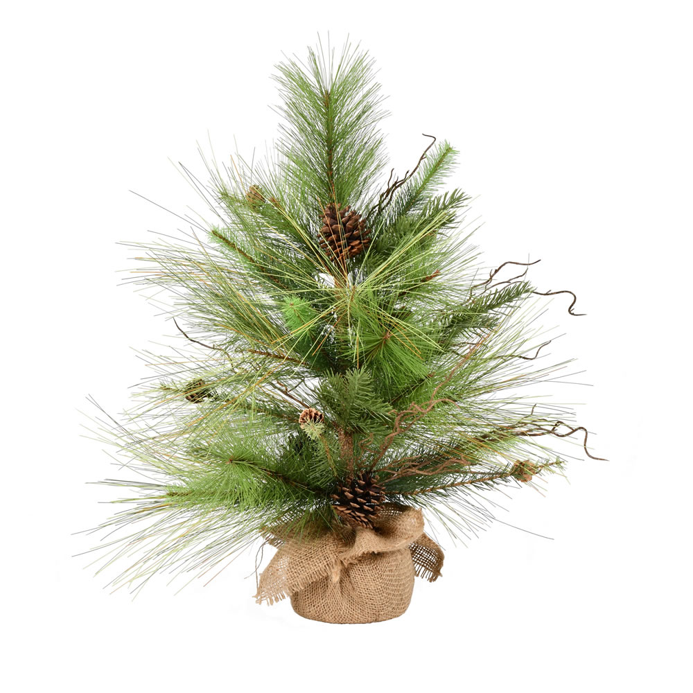 2 Foot Tree Ridgeville Pine Tabletop Artificial Christmas Tree Unlit