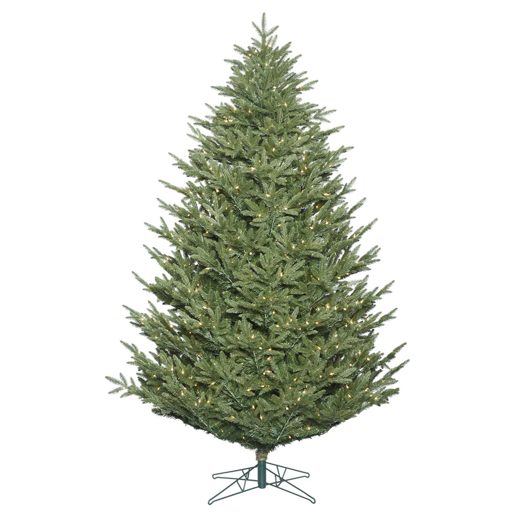 14 Foot Deluxe Frasier Fir Artificial Christmas Tree 2600 DuraLit Incandescent Clear Mini Lights