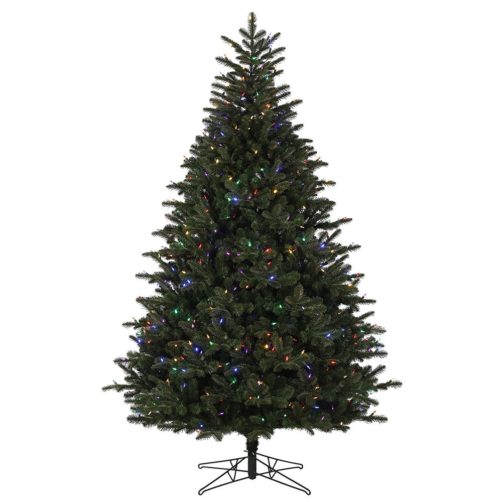 Artificial Christmas Trees - Prelit Artificial Christmas Trees - 85 ...