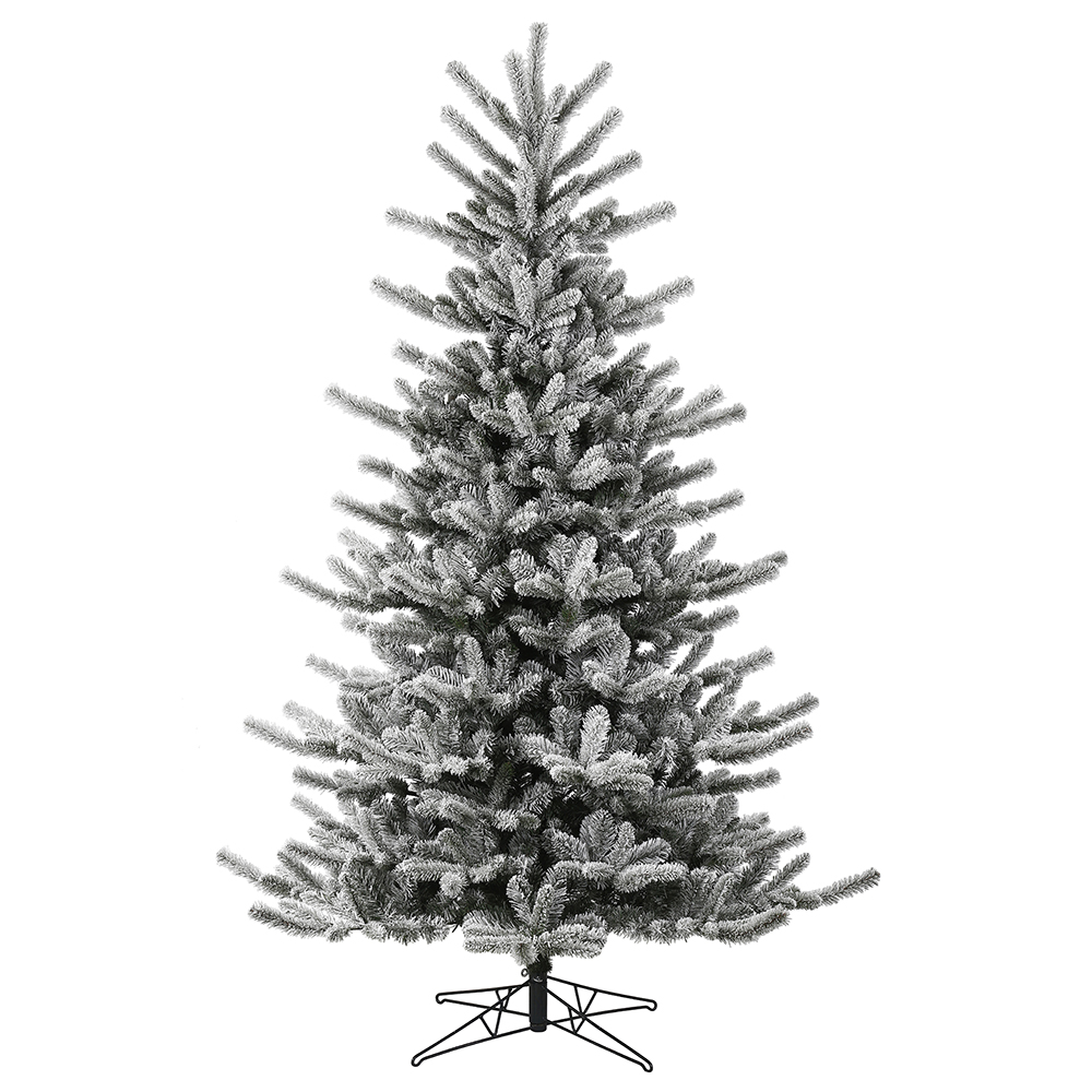 12 Foot Frosted Decorator Pine Artificial Christmas Tree Unlit
