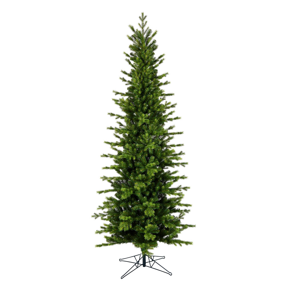 14 Foot Moutauk Pine Pencil Artificial Christmas Tree Unlit