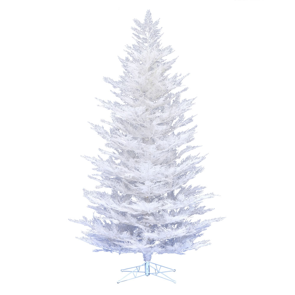 12 Foot Flocked Cedar Pine Artificial Christmas Tree Unlit