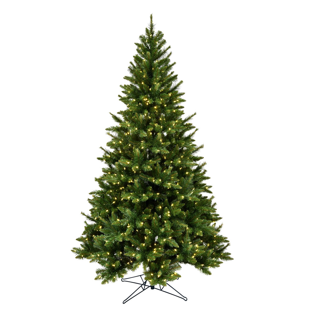 3.5 Foot Bennington Spruce Artificial Christmas Tree - 200 Duralit LED Warm White Mini Lights