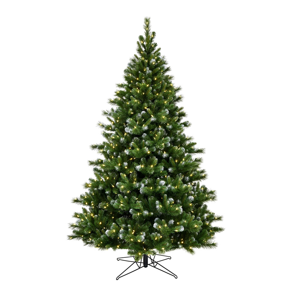 4.5 Foot New Haven Spruce Artificial Christmas Tree 250 Duralit LED Warm White Mini Lights