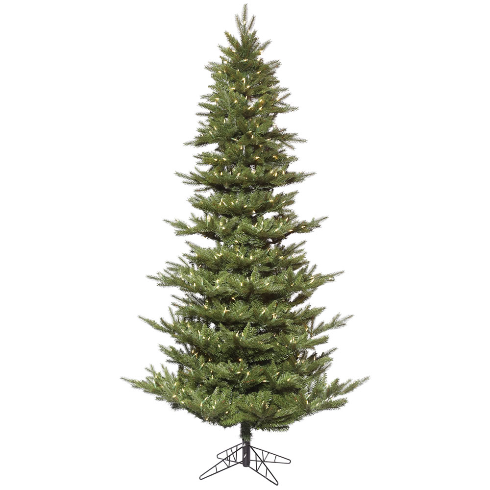 14 Foot Carlsbad Fir Artificial Christmas Tree 2200 DuraLit LED Warm White Mini Lights