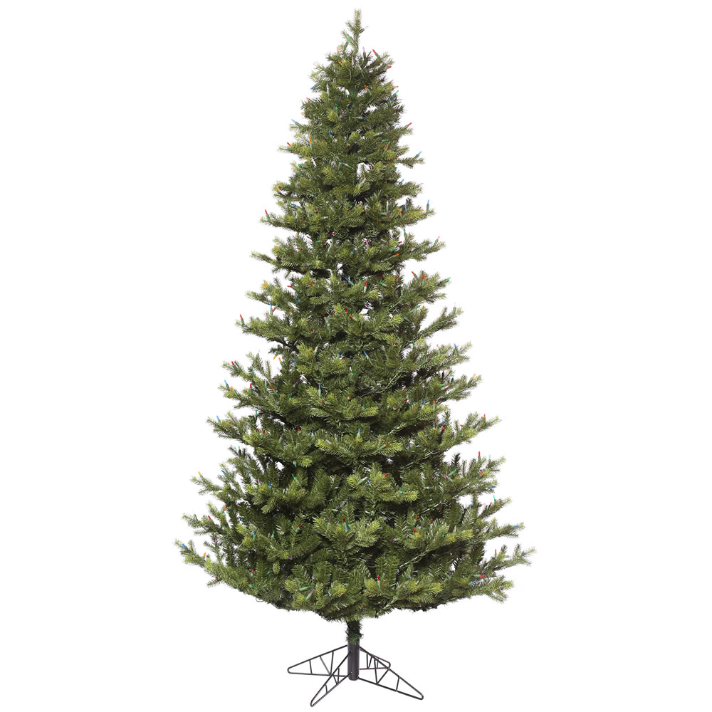 14 Foot Oak Frasier Fir Medium Artificial Christmas Tree Unlit