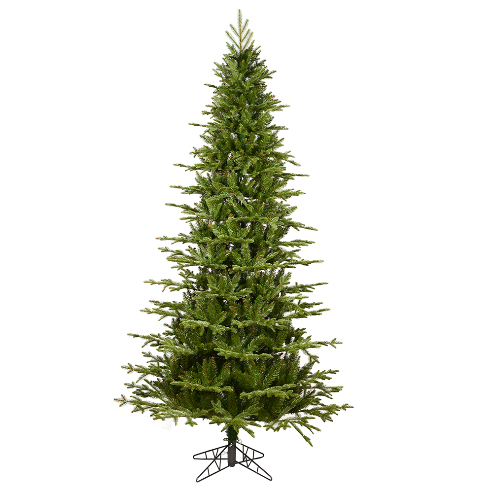 10 Foot Kamas Fraiser Fir Slim Artificial Christmas Tree Unlit