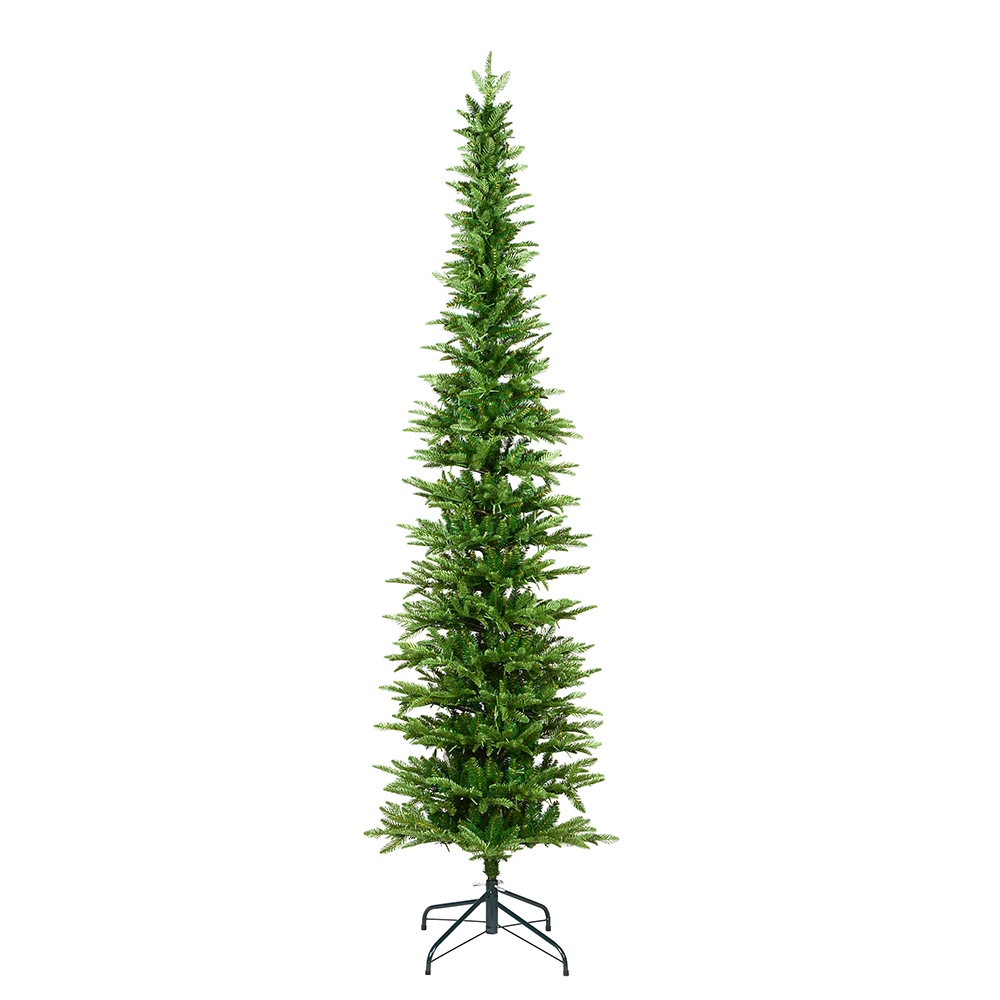 7.5 Foot Compton Pole Pine Artificial Christmas Tree Unlit