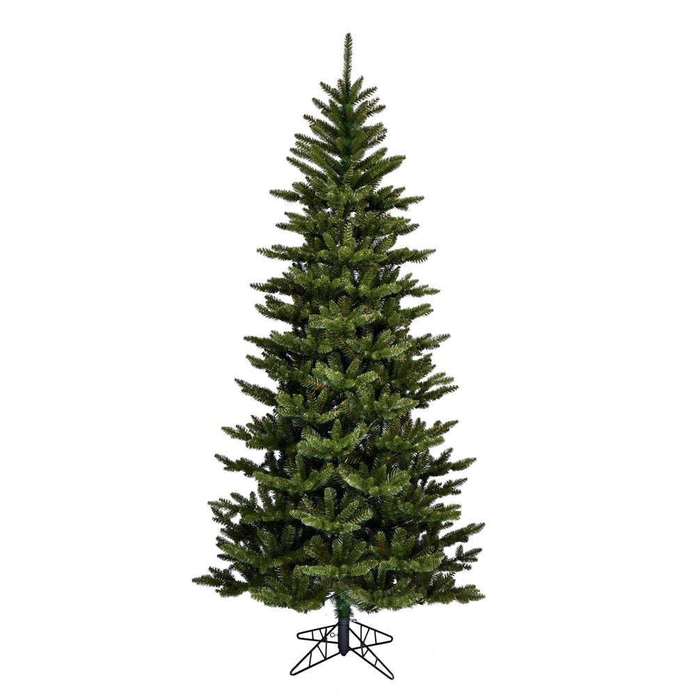 12 Foot Natural Fraser Slim Artificial Christmas Tree Unlit