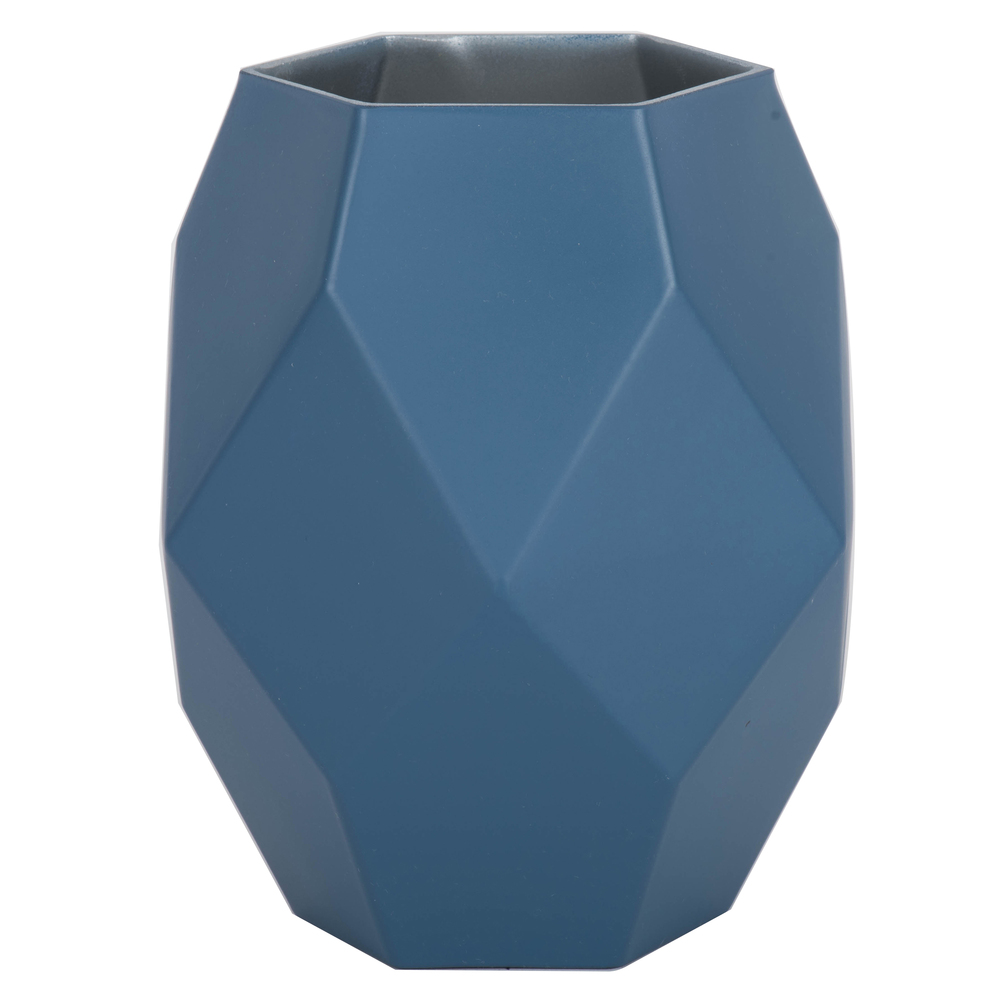 7.75 Inch Hydro Geometric Glass Vase