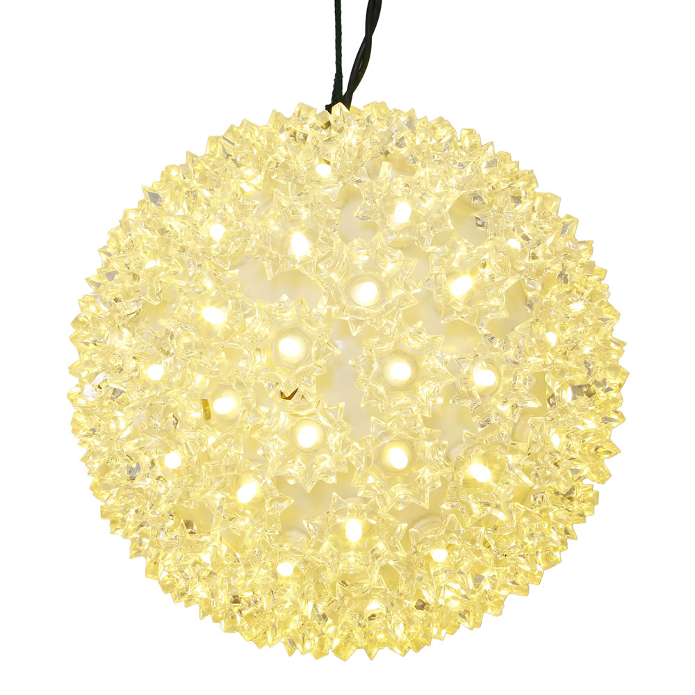 150 LED Warm White Twinkle Starlight Christmas Light Sphere Lead Wire