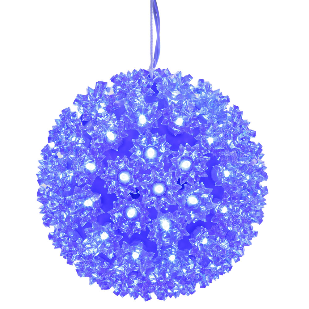 150 LED Blue Starlight Christmas Light Sphere Lead Wire