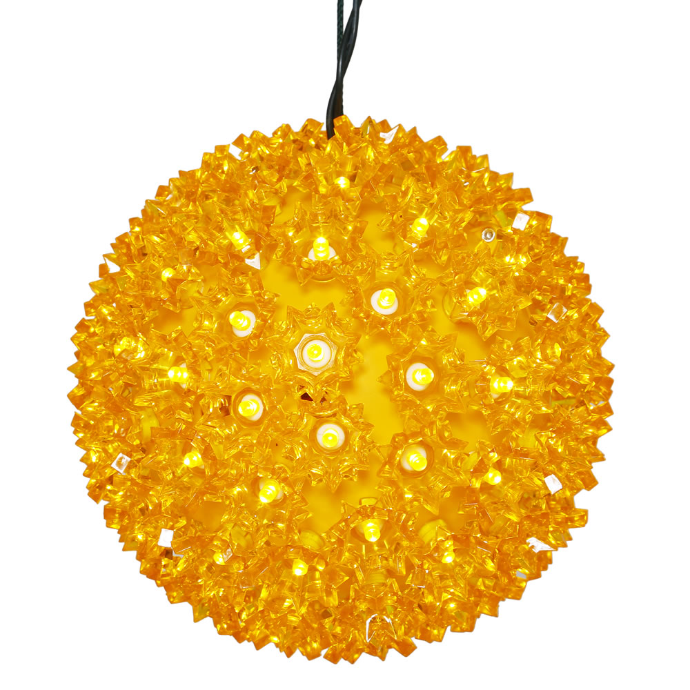 150 LED Gold Starlight Christmas Light Sphere Lead Wire