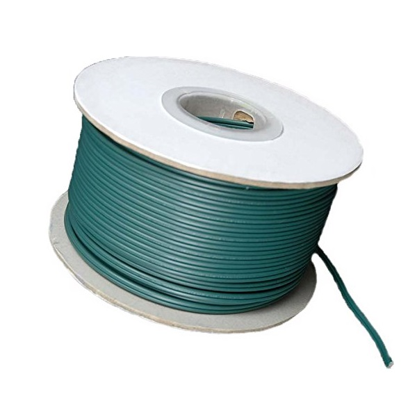 500 Foot Spool Green 18 Gauge SPT2 Custom Christmas Light Wire Only