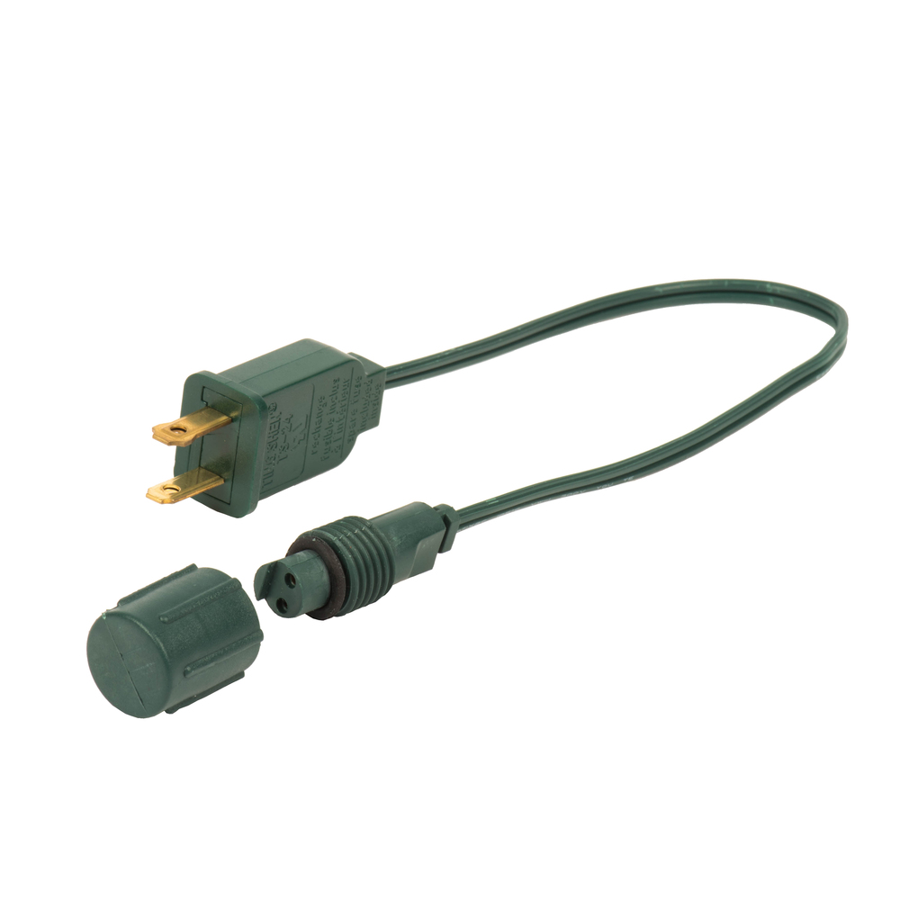 12 Inch Green Wire Coaxial Power Cord for X6G6601PBG