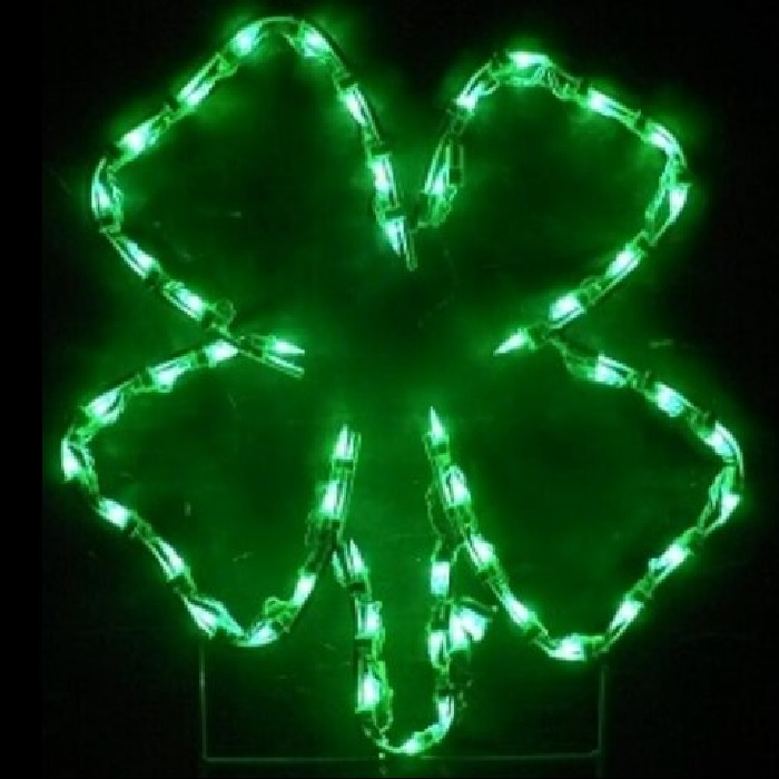 Shamrock LED Lighted Outdoor Saint Patricks Day Decoration