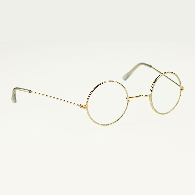 Santa Claus Metal Frame Costume Glasses
