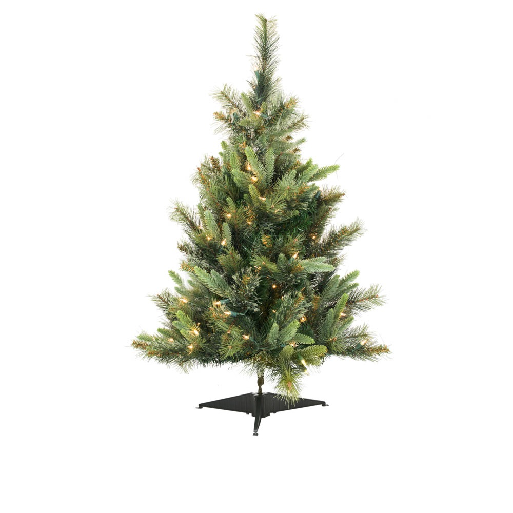 4.5 Foot Cashmere Pine Artificial Christmas Tree Unlit