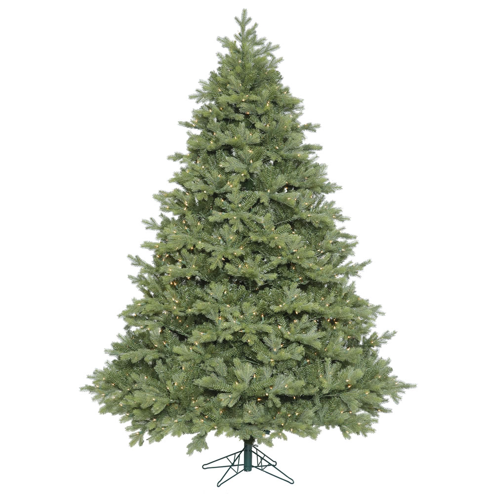 6.5 Foot Idaho Frasier Fir Artificial Christmas Tree 650 DuraLit Incandescent Clear Mini Lights