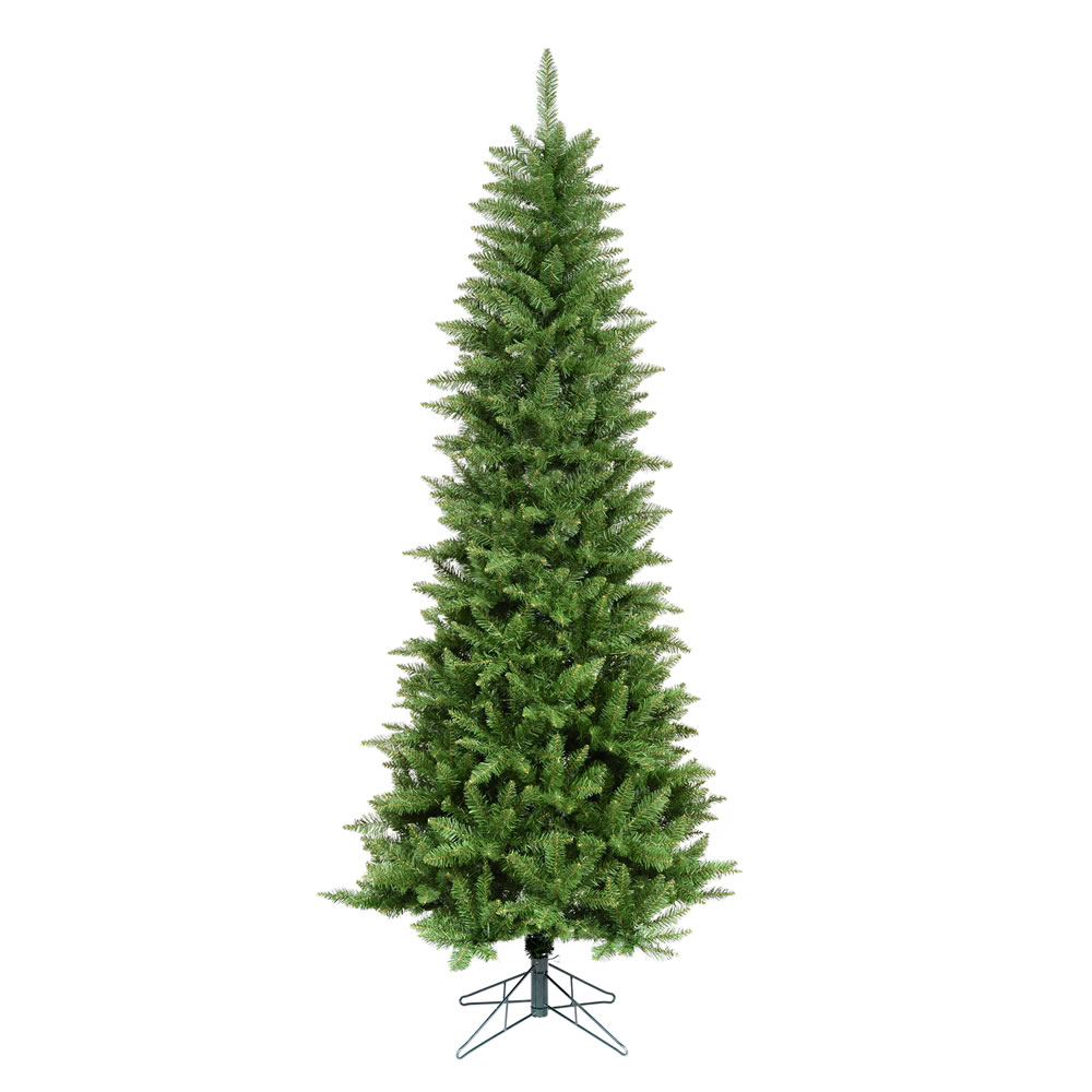 7.5 Foot Chaska Pencil Pine Artificial Christmas Tree Unlit