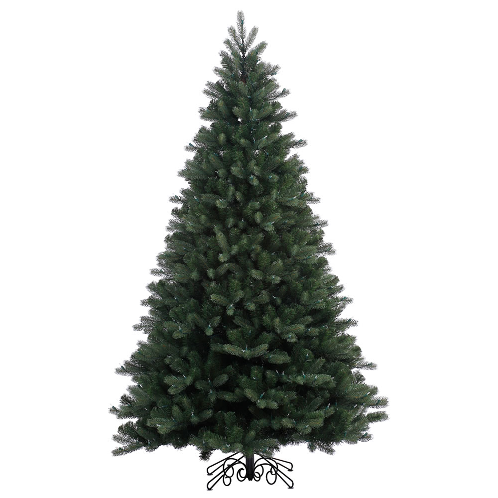 7.5 Foot Noble Spruce Instant Shape Artificial Christmas Tree Unlit