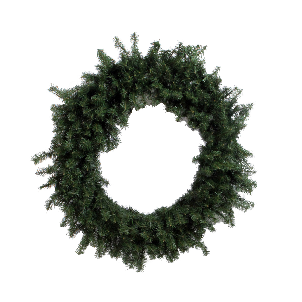 6 Foot Canadian Pine Artificial Christmas Wreath Unlit