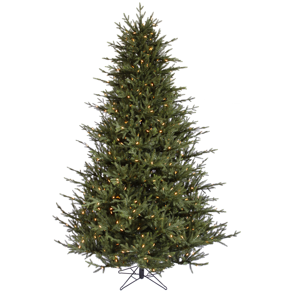 8.5 Foot Itasca Frasier Fir Artificial Christmas Tree 1000 LED M5 Italian Warm White Lights