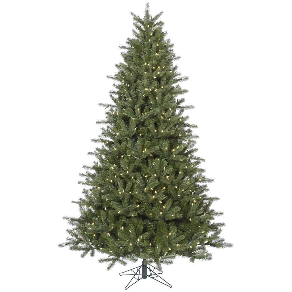 12 Foot Kennedy Fir Artificial Christmas Tree 2050 LED M5 Italian Warm White Lights