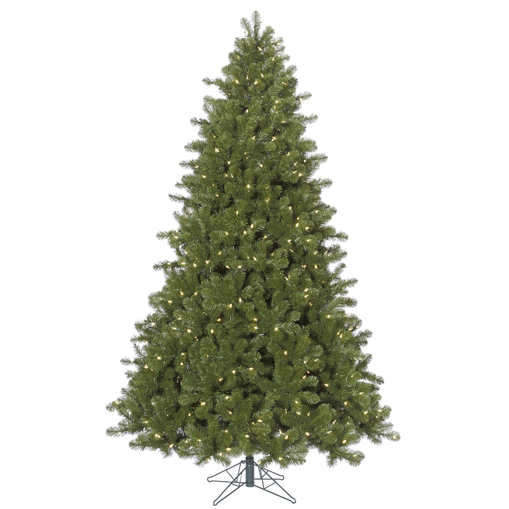 12 Foot Ontario Spruce Artificial Christmas Tree 2000 LED M5 Italian Warm White Lights