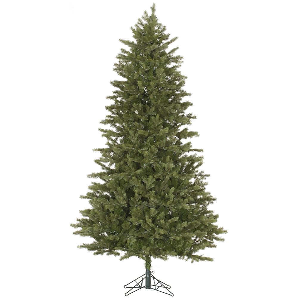 14 Foot Slim Balsam Fir Artificial Christmas Tree Unlit