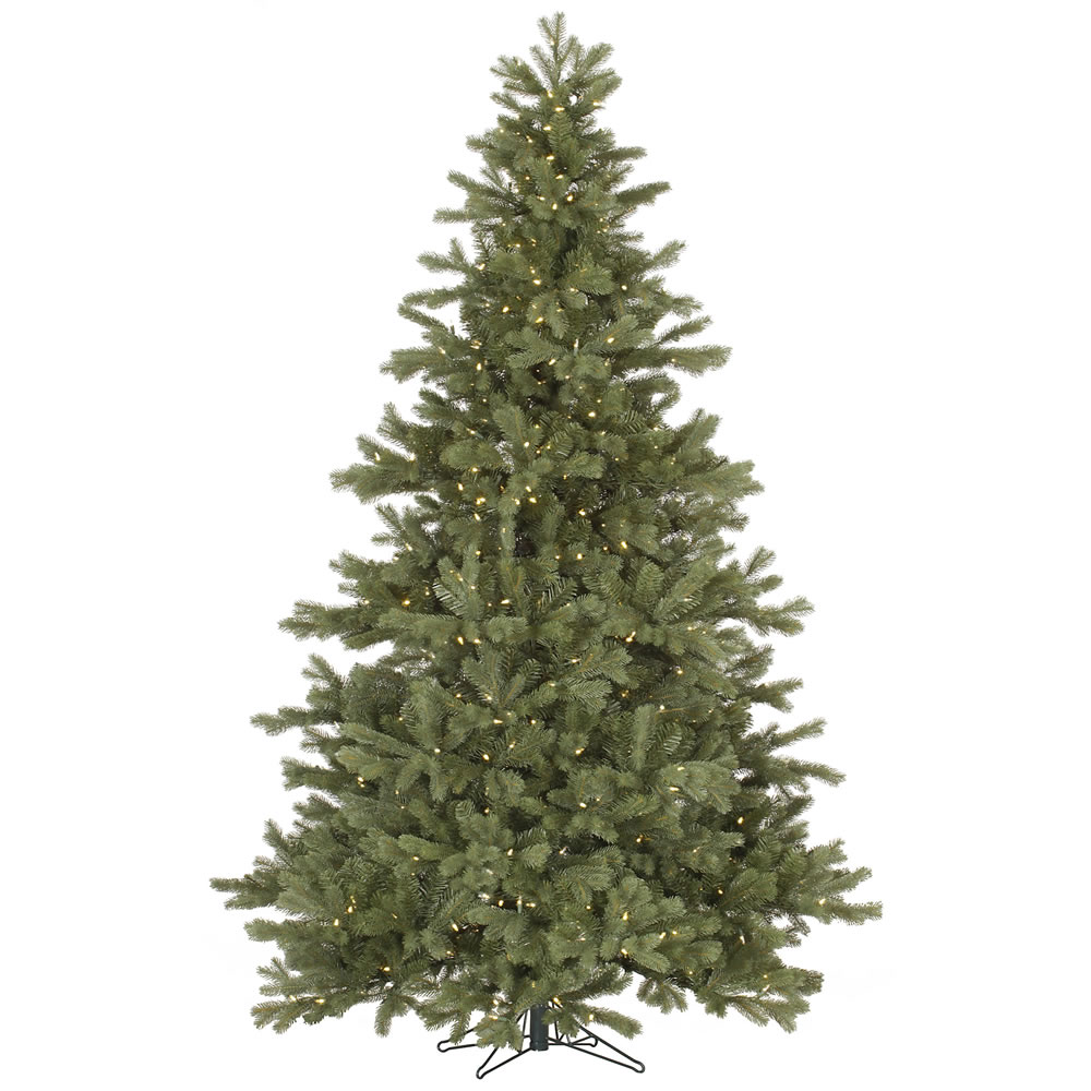 6.5 Foot Frasier Fir Artificial Christmas Tree 500 DuraLit LED M5 Italian Warm White Mini Lights