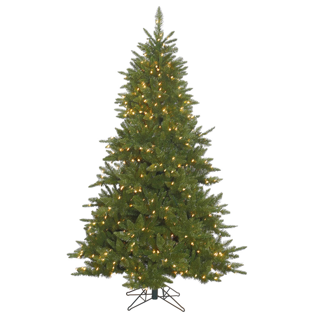 12 Foot Durango Spruce Artificial Christmas Tree 2100 DuraLit Incandescent Clear Mini Lights