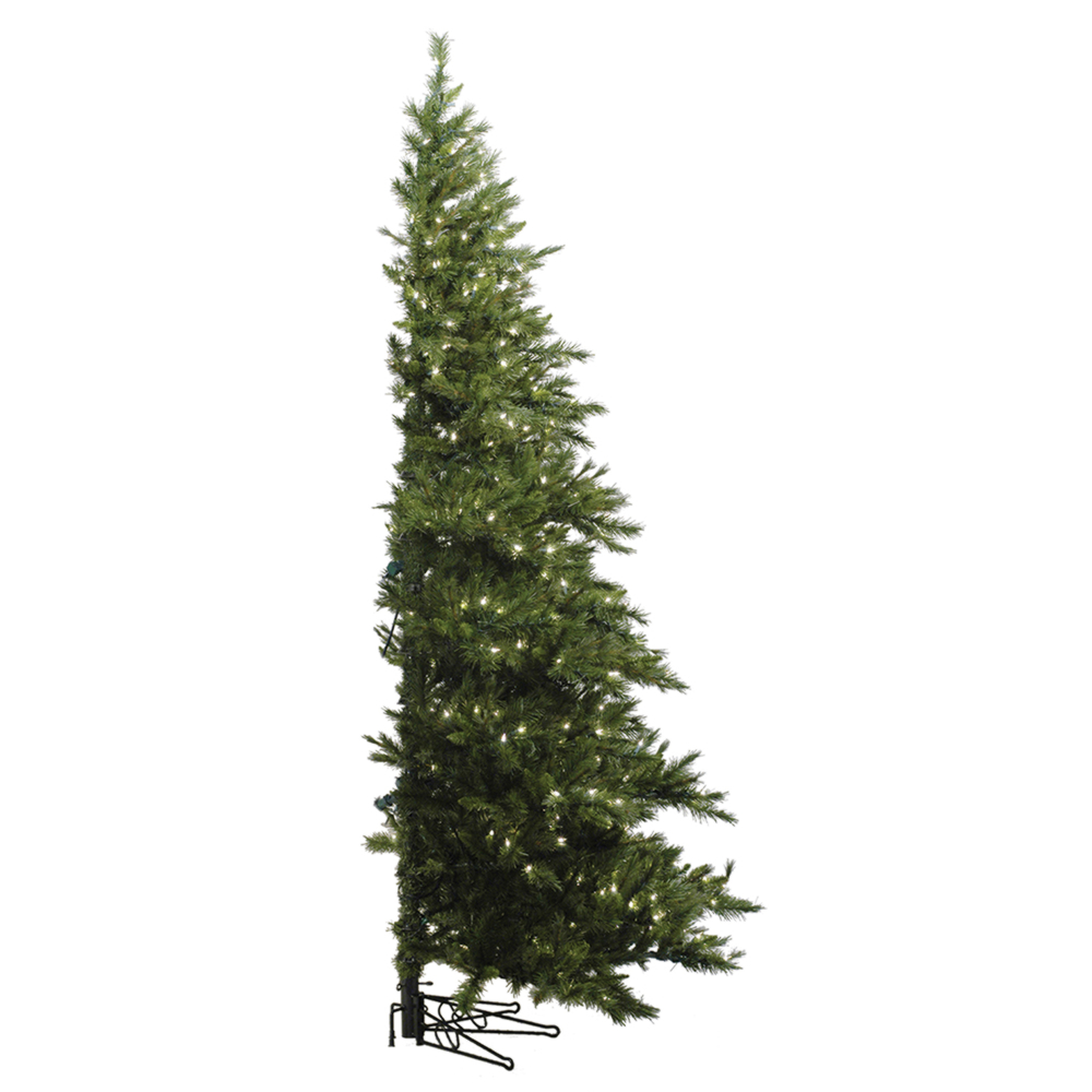 6.5 Foot Westbrook Half Artificial Christmas Tree 400 DuraLit Clear Lights