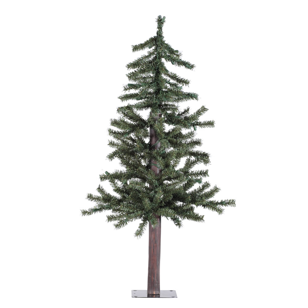 3 Foot Natural Alpine Artificial Christmas Tree Unlit