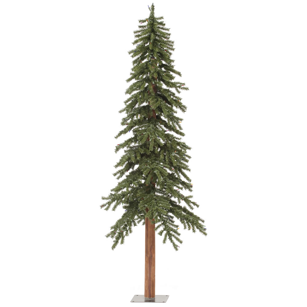 6 Foot Natural Alpine Artificial Christmas Tree Unlit