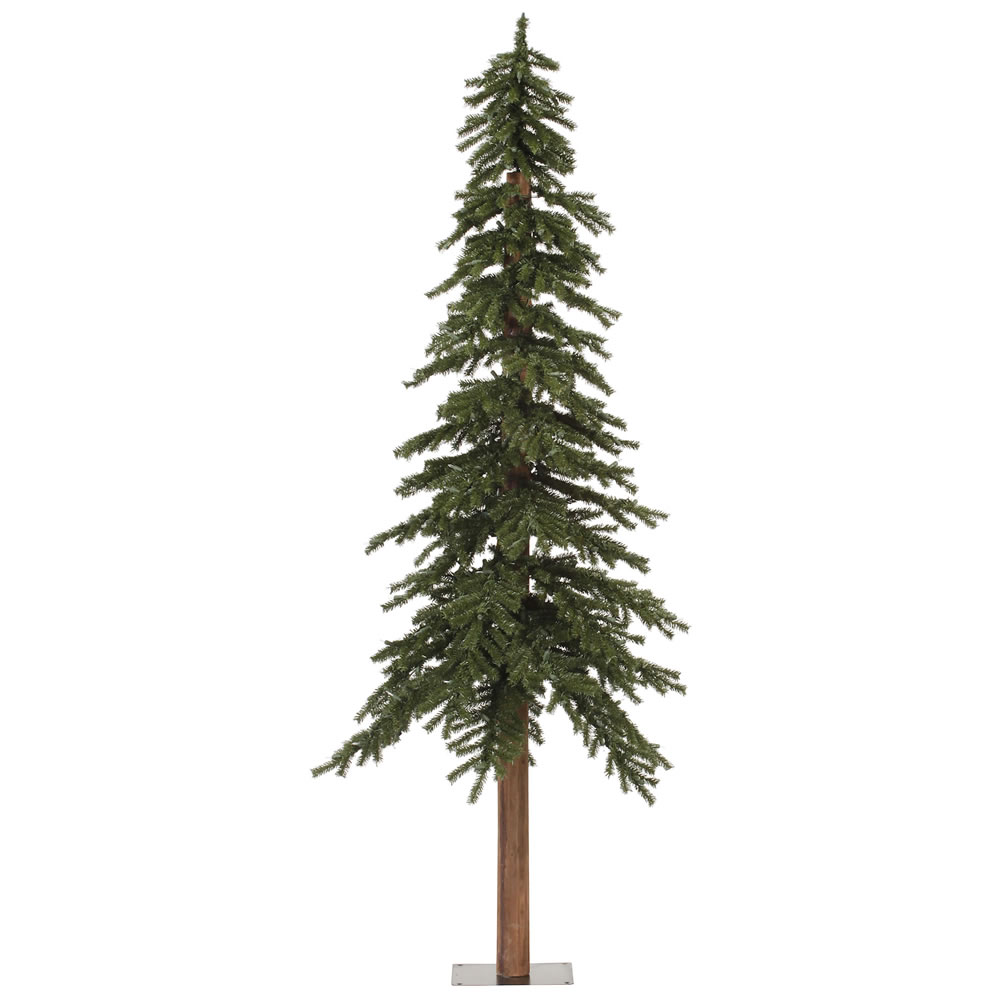 7 Foot Natural Alpine Artificial Christmas Tree Unlit