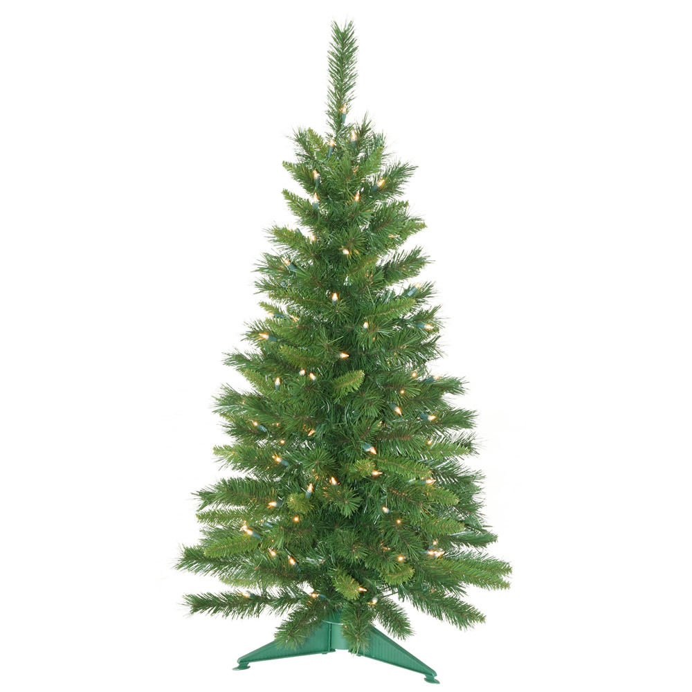 3.5 Foot Prelit Imperial Artificial Christmas Tree 150 Clear Lights