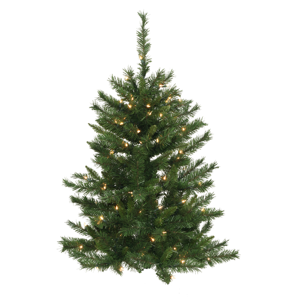 4 Foot Imperial Pine Artificial Christmas Wall Tree Unlit