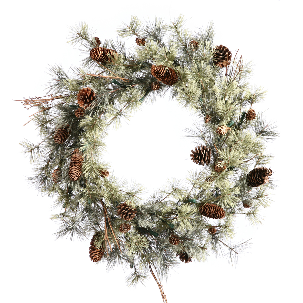 12 Inch Dakota Artificial Christmas Wreath Unlit