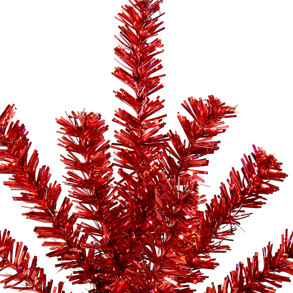 Red Mini Colorful Pine Decorative Artificial Christmas Spray 10 per Set