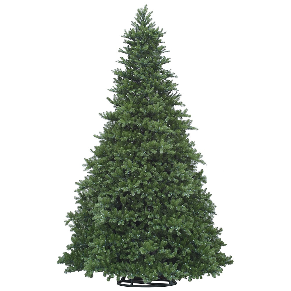 16 Foot Grand Teton Artificial Commercial Christmas Tree Unlit