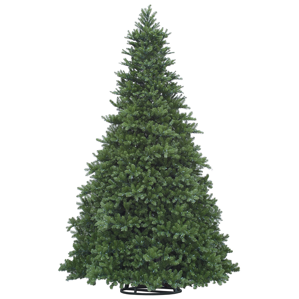 30 Foot New Grand Teton Frame Artificial Commercial Christmas Tree 4070 LED C7 Warm White Lights