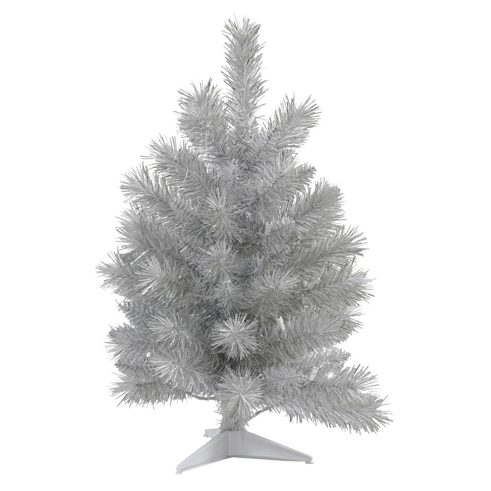 3 foot silver white pine artificial christmas tree unlit 3 foot tree 19 inch diameter item number n135130 price 5799 - 3 Foot White Christmas Tree