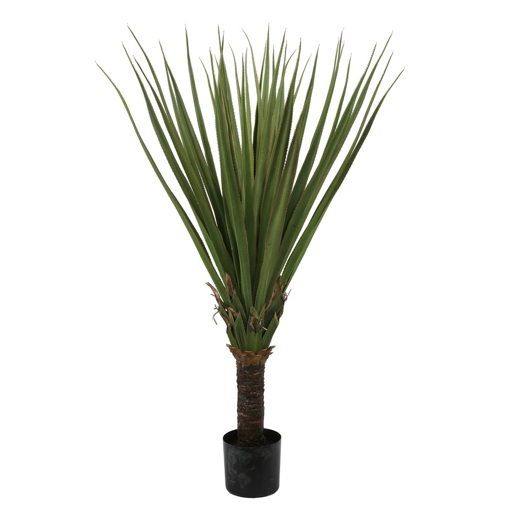 5 Foot Pandanus Artificial Potted Palm Tree Unlit