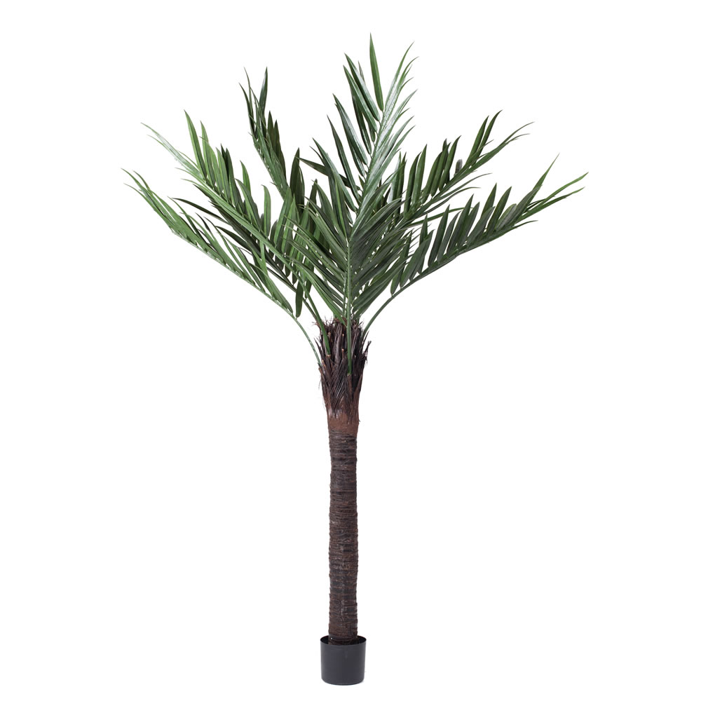 6 Foot Kentia Artificial Potted Palm Tree Unlit UV Flame Retardant
