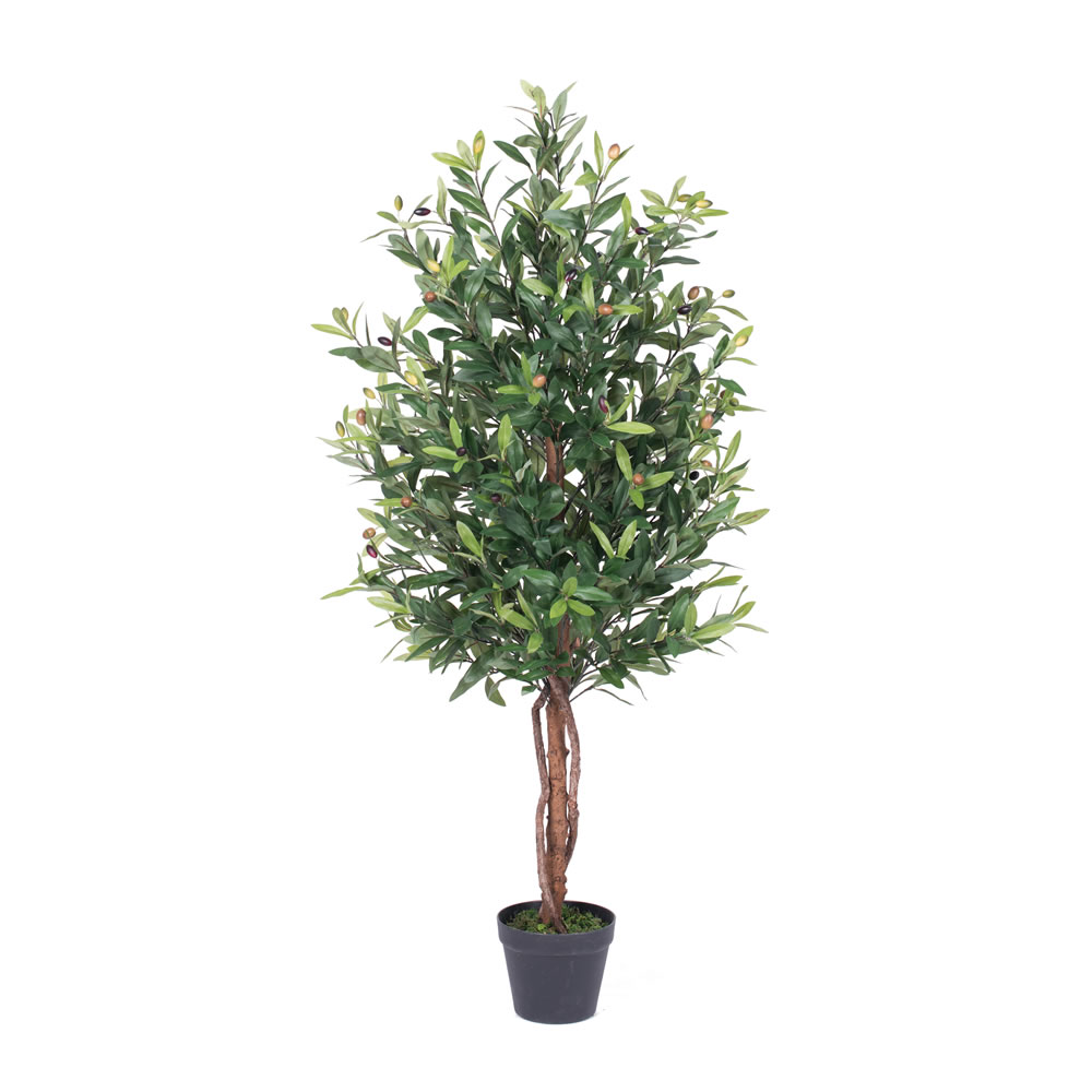 50 Inch Olive Potted Artificial Tree