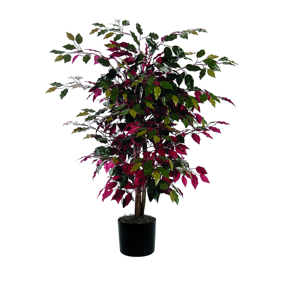4 Foot Capensia Bush Artificial Floor Plant